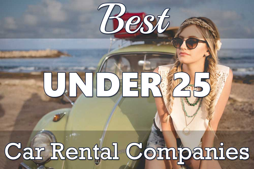 Best Car Rental Companies Under 25